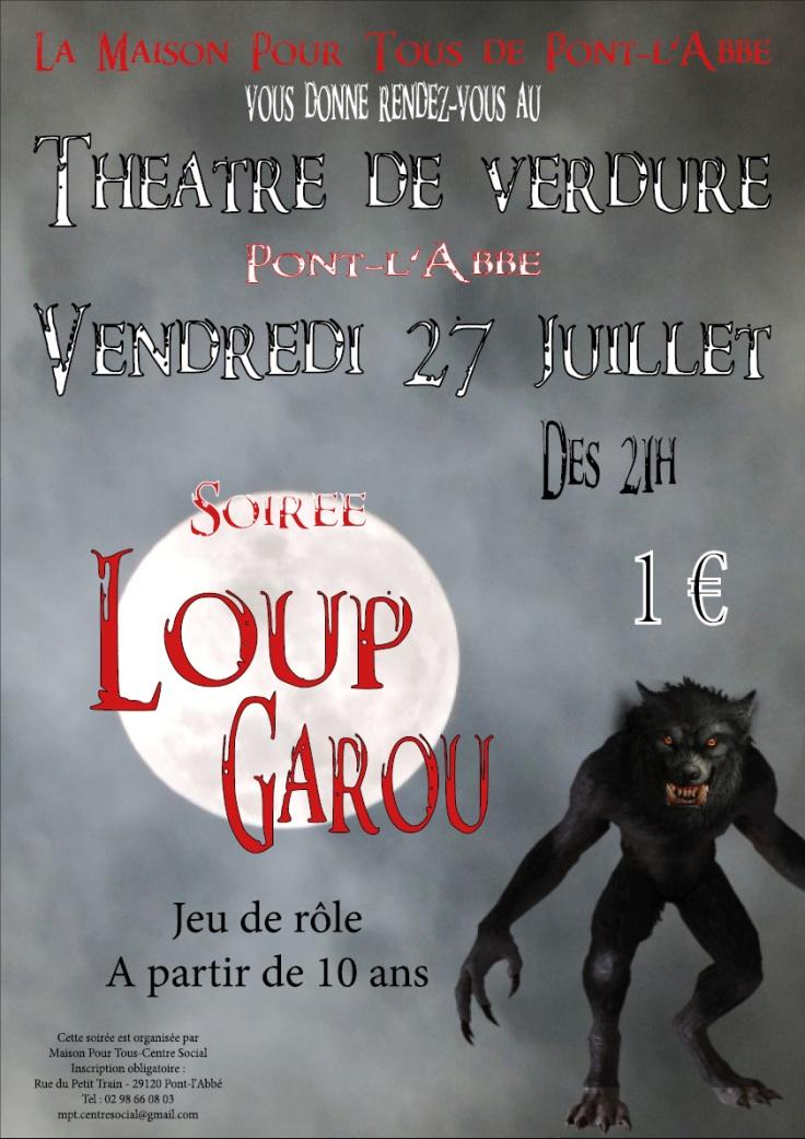 MPT Pl'A-Affiche Loup Garou